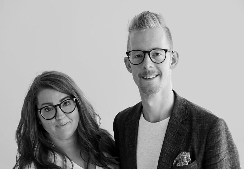 Annelie Knutsson och Johan Granström, grundare av bolaget MÄJT