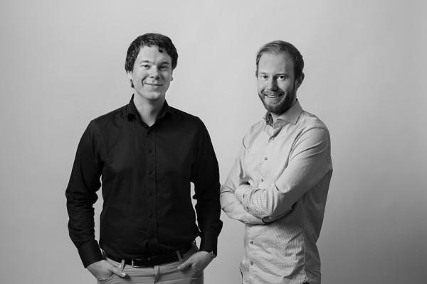 Billy och Filip Palmberg, grundare av OnDesk kontorsmaterial och Flies.se.