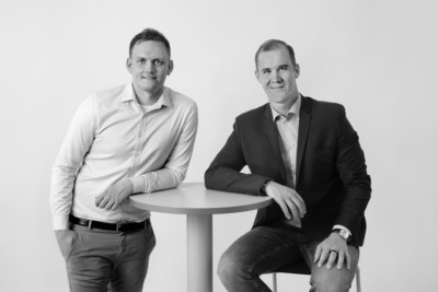 Pär Widmark och Elias Andersson, grundare av företaget Capivo